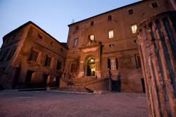 Subiaco. Rocca dei Borgia, ingresso