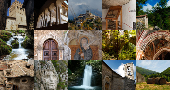 Borghi e paesi della Valle dell'Aniene