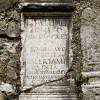 Affile, Cippo romano sulle mura della Chiesa di Santa Felicita