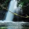 La cascata di Trevi nei pressi dell'area archeologica di Comunacque