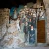 Cervara, murales sulla parete di un sottopasso