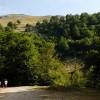 Il sentiero che conduce alla Fonte della Moscosa e alla vetta del Viglio nei pressi del valico Sant'Antonio