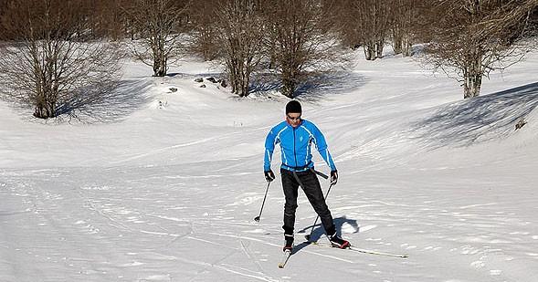Valle dell'Aniene, il paradiso dello sci da fondo