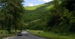 Arrivare in macchina nella Valle dell'Aniene