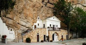 Vallepietra, Santuario della Santissima Trinità
