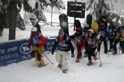 Coppa Italia di Snow-Alp in Val d'Aniene