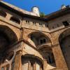 Subiaco. Le incredibili arcate che sorreggono il Monastero di San Benedetto