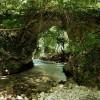 Trevi nel Lazio: l'antico ponte di Comunacque alla confluenza tra Aniene e Simbrivio