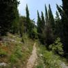 Monti Simbruini, Sentiero 671B, salita all'eremo di Santa Chelidonia (Subiaco)