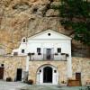 Vallepietra: il Santuario della Santissima Trinità