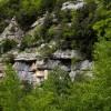 Vallepietra, straficazioni calcaree nella Valle del Fosso delle Vaglie