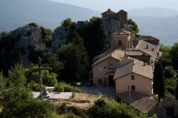 Guadagnolo, Santuario della Mentorella (m 998)