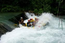 Subiaco, rafting sull'Aniene