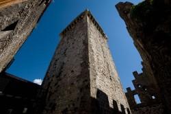 Trevi nel Lazio, l'imponente torre del Castello Caetani