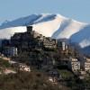 Trevi nel Lazio, sullo sfondo il Monte Viglio