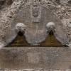 Anticoli Corrado, Fontana delle Gorgoni in piazza del mercato