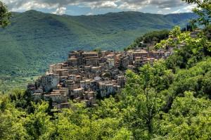 Anticoli Corrado, veduta del borgo