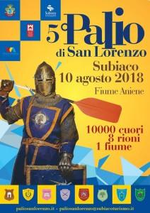 Manifesto Palio San Lorenzo 2018