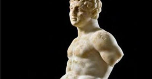 Tivoli_Santuario di Ercole Vincitore_statua di Ercole